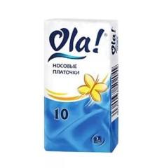Ола платочки бумажные №10