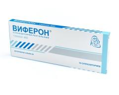 Виферон -1 суппозитории ректальные 150000 МЕ №10