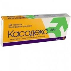 Касодекс таблетки п.о 50мг №28