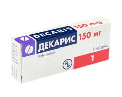 Декарис таблетки 150мг №1