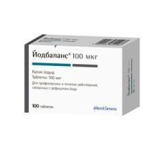 Йодбаланс 100 таблетки №100