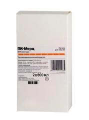 ПК-Мерц раствор для инфузий 500мл №2