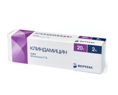 Клиндамицин крем вагинальные с аппл. 2% 20г