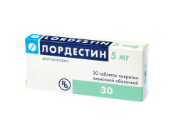 Лордестин таблетки п.о 5мг №30