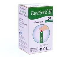 Изи тач тест-полоски д/опред. глюкозы №50