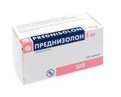 Преднизолон Рихтер таблетки 5мг №100