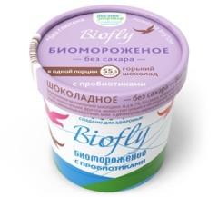 Биомороженое Биофлай Горький шоколад 3% 45г