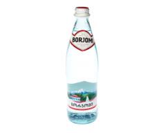 Вода минеральная Боржоми 0,5л стекло