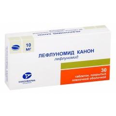 Лефлуномид Канон таблетки п.о 10мг №30