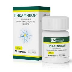 Пикамилон ФСТ таблетки 20мг №30