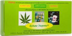 Тест ИммуноХром-3-Мульти-Экспресс д/выяв.3 видов наркотиков в моче