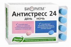 Биоритм антистресс 24 день/ночь Эвалар таблетки №32
