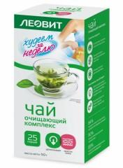 Худеем за неделю Похудин чай Очищ. комплекс ф/п №25