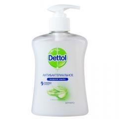 Деттол мыло жидкое антибакт. алоэ/витамин Е 250мл