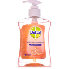 Деттол мыло жидкое антибакт. грейпфрут 250мл