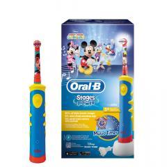 Орал Би зубная щетка электрическая Микки для детей D10.513 т.3757
