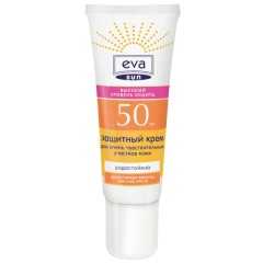 Ева Сан крем солнцезащитный д/оч.чувств.зон SPF50 25мл