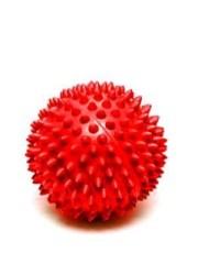 Мяч массаж. 5см красный (ежик) L0105