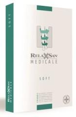 Релаксан чулки Soft на рез. закр. носок К1 р.1/S черный (М1170)