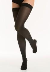 Релаксан чулки Soft на рез. закр. носок К1 р.2/M черный (М1170)