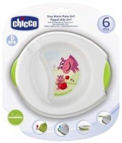 Кикко тарелка термо 2в1 пластик от 6мес. 06826.00