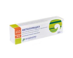 Метилурацил Нижфарм мазь 10% 25г