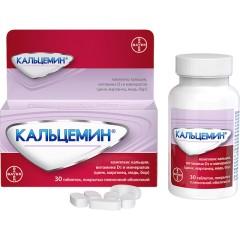 Кальцемин таблетки п.о №30