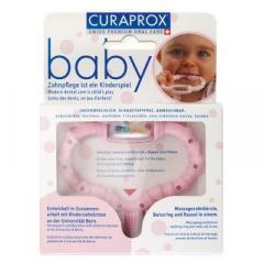 Курапрокс прорезыватель розовый CKC42 girl