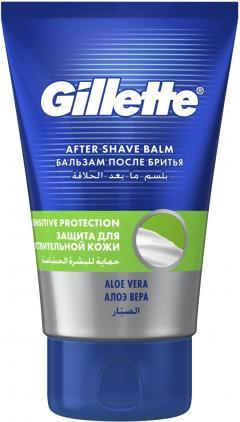 Жиллетт бальзам после бритья Сириес для чувствительной кожи 100мл