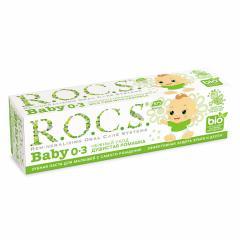 Рокс зубная паста Беби Душист.Ромашка для детей 0-3лет 45г