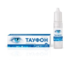 Тауфон капли глазные 4% 10мл