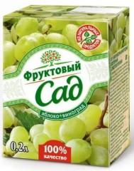 Фруктовый сад Виноград/яблоко 200мл