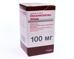 Оксалиплатин Эбеве лиофилизат для инфузий 100мг фл. №1