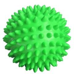 Мяч массаж. 7см зеленый (ежик) L0107