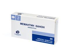 Мемантин таблетки п.о 10мг №90