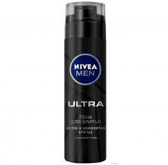 Нивея Мен пена для бритья Ультра 200мл 88579