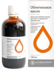 Облепиховое масло 100мл