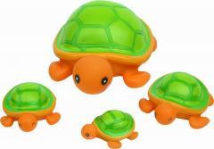 Курносики игрушка д/ванной Семейка черепашки 25071
