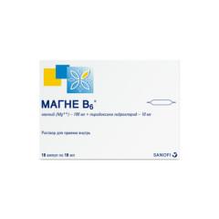 Магне B6 раствор для внутреннего прим.10мл №10