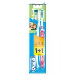 Орал Би зубная щетка 3Эффект Натуральная свежесть 40 средняя