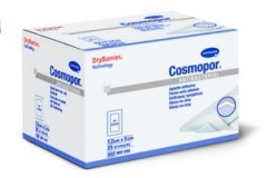 Хартманн Космопор А/бактер. повязка самокл. серебро 7,2х5см №25 (9010001)