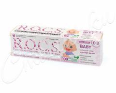 Рокс зубная паста Беби Аромат Липы для детей 0-3лет 45г