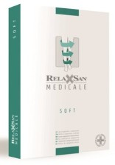 Релаксан чулки Soft на рез. откр. носок К1 р.1/S беж. (М1170A)
