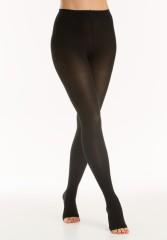 Релаксан колготки Soft откр. носок К1 р.5/XXL черный (М1180A)