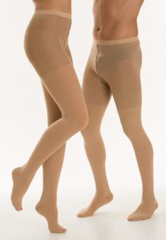 Релаксан колготки Classic закр. носок К1 р.3/L беж. (M1480)