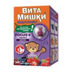 ВитаМишки ФОКУС+ жевательные паст. №30