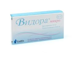 Видора Микро таблетки №21+7