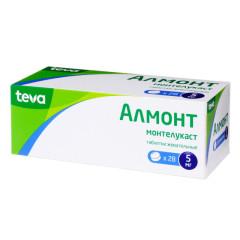Алмонт таблетки жевательные 5мг №28