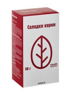 Солодка корни Здоровье 50г