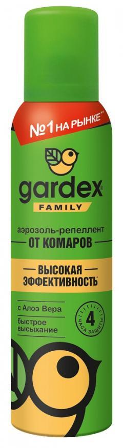 Гардекс Фемили аэрозоль от комаров 150мл